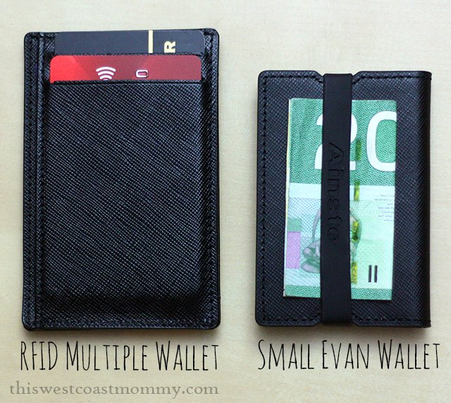 Ainste multiple wallet and small Evan wallet