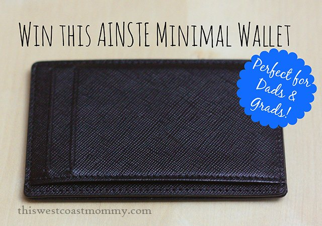 Win this Ainste RFID blocking minimal wallet (US/CAN, 6/19)
