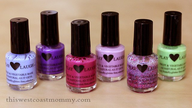 Play Love Laugh Kid-Safe Nail Polish Review | This West Coast Mommy