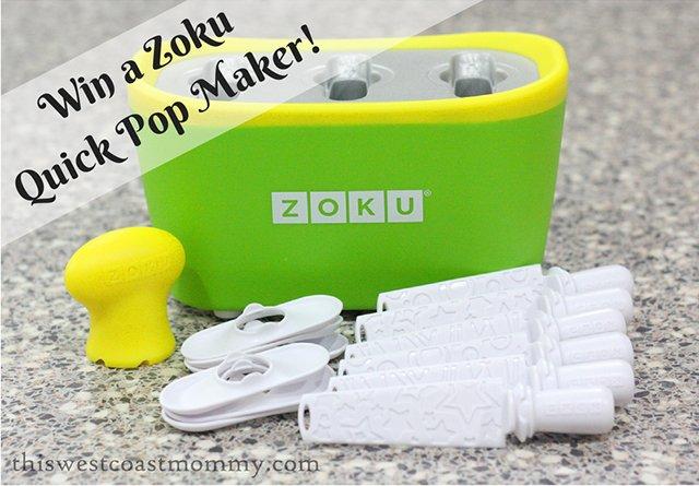 Win a Zoku Quick Pop Maker! Open US only, 6/30.