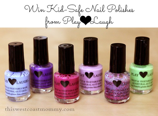 Win Kid-Safe Non-Toxic Nail Polishes from Play Love Laugh! US/CAN, 6/30.