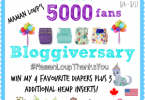 Maman Loup's 5000 Fan Bloggiversary Celebration #Giveaway {Closed}