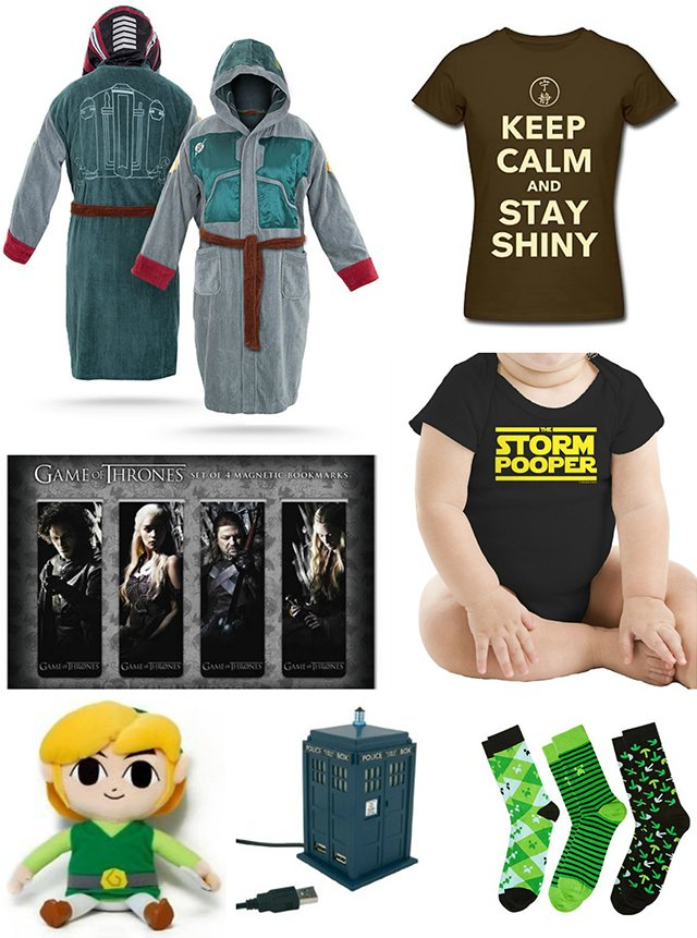 Selection of Fortress Geek gifts