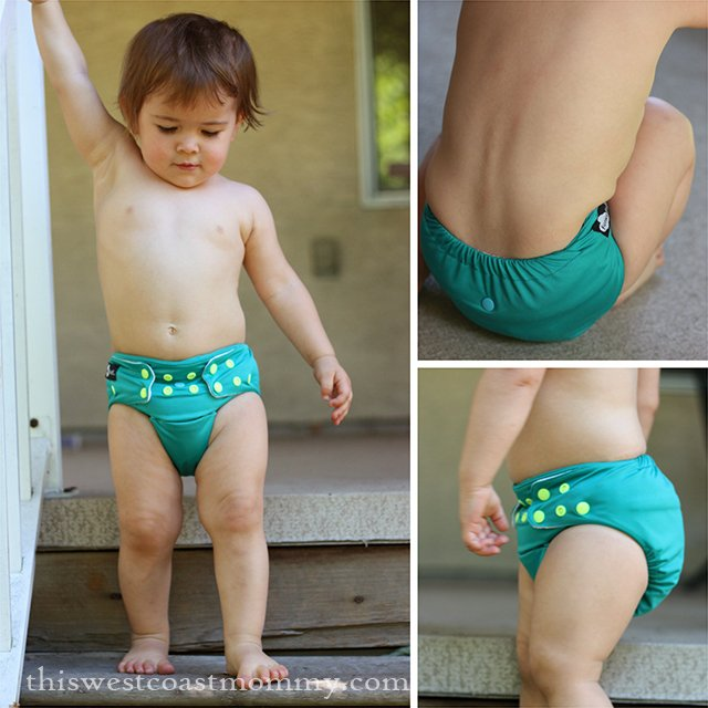 Funky Fluff Bamboo diaper review