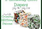 Glow Bug Cloth Diapers #Giveaway {Closed}