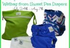 Sweet Pea #ClothDiapers #Giveaway {Closed}