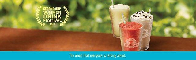 Second Cup Summer Drink Festival