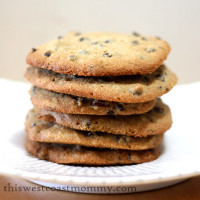 almond flour chocolate chip and pecan cookies thumbnail