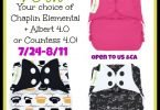 bumGenius #ClothDiaper #Giveaway – Win a Chaplin! {Closed}