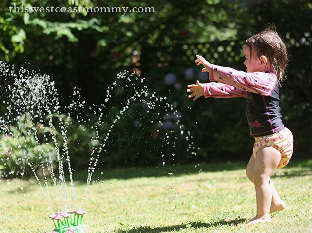 keira and the sprinkler