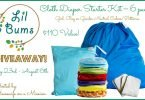 Win a Lil Bums #ClothDiaper Starter Kit #Giveaway {Closed}
