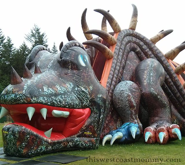 Visit the Ninjasaur at Dinotown in Cultus Lake, BC