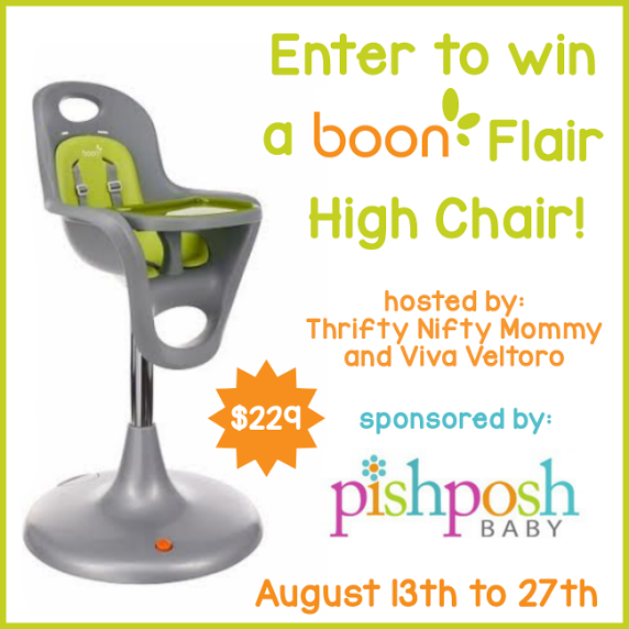 Boon Flair high chair