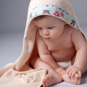 Oko Creations Hooded Baby Bath Towel