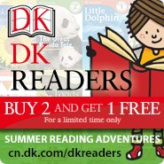DK Readers: Buy 2 and get 1 Free