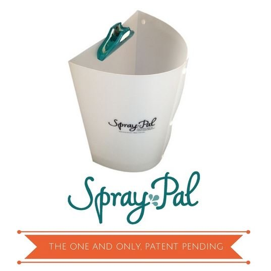 The Spray Pal splatter shield keeps back spray off you, your toilet, and your walls.