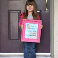 1st day of preschool 2014