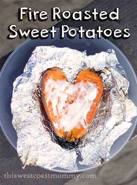 Fire Roasted Sweet Potatoes Recipe