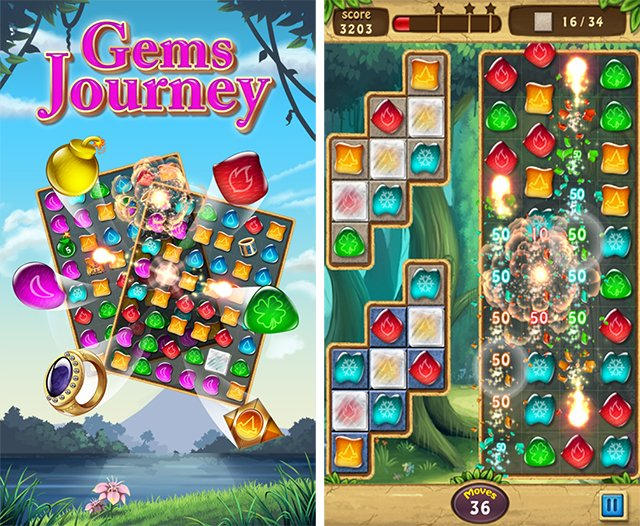 play gems journey online free