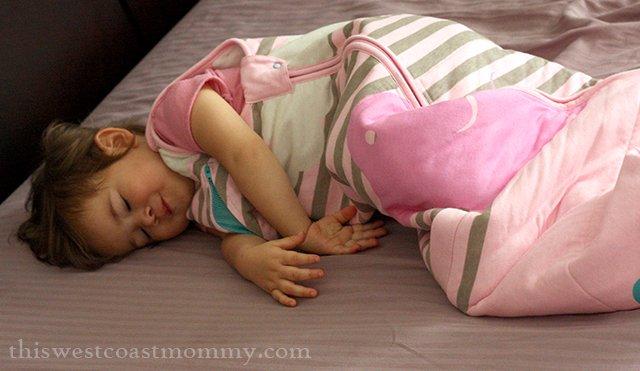 Love to Inventa pink sleep bag
