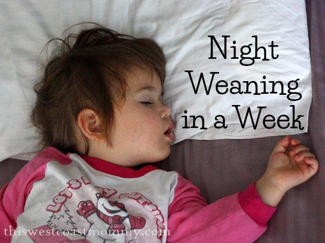 Night Weaning in a Week