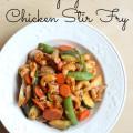 Paleo Spicy Cashew Chicken Stir Fry