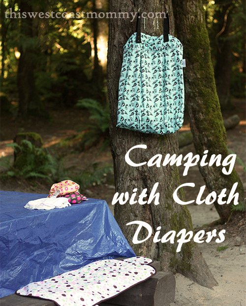 How to go camping with cloth diapers