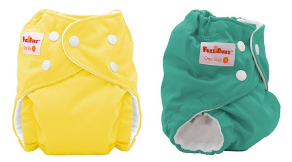 fuzzibunz OS cloth diapers