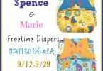 Spence and Marie bumGenius AIO Freetime #ClothDiaper #Giveaway {Closed}