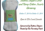 Buttons Diapers Cover and Inserts #Giveaway {Closed}