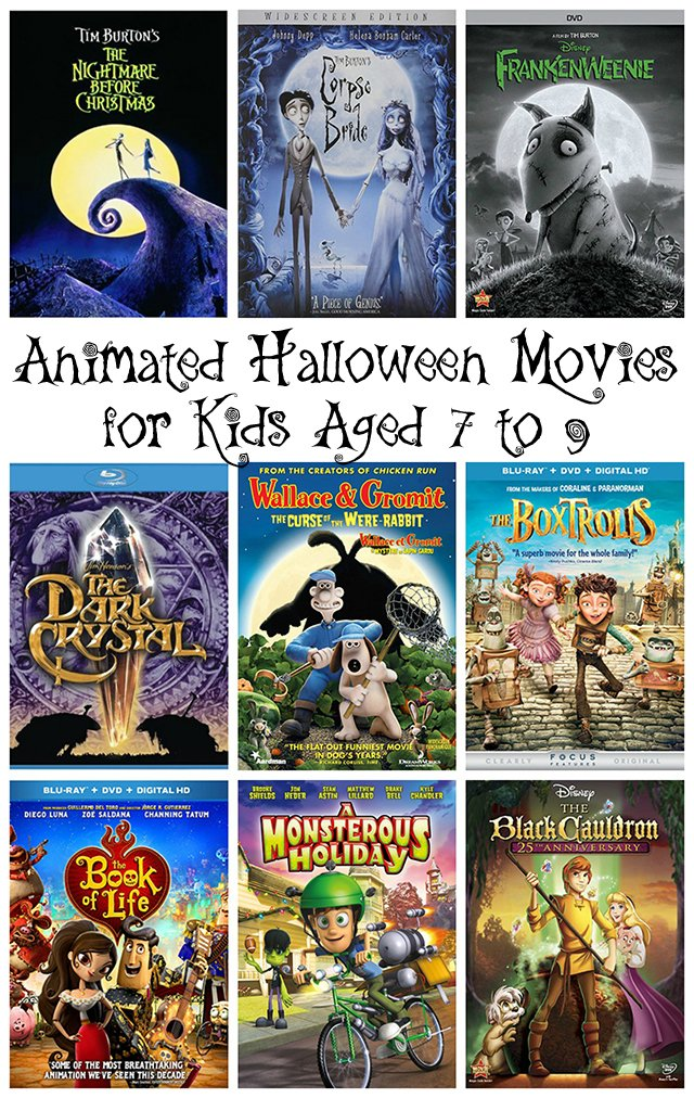 animated halloween movies for kids aged 7 to 9