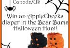 Bear Bums Halloween AppleCheeks #ClothDiaper Giveaway {Closed}