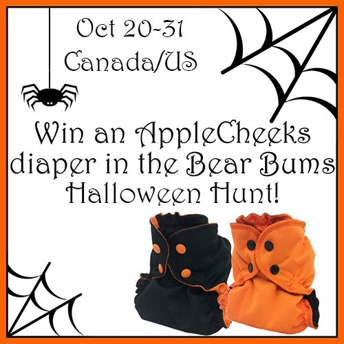 Bear Bums Halloween Hunt