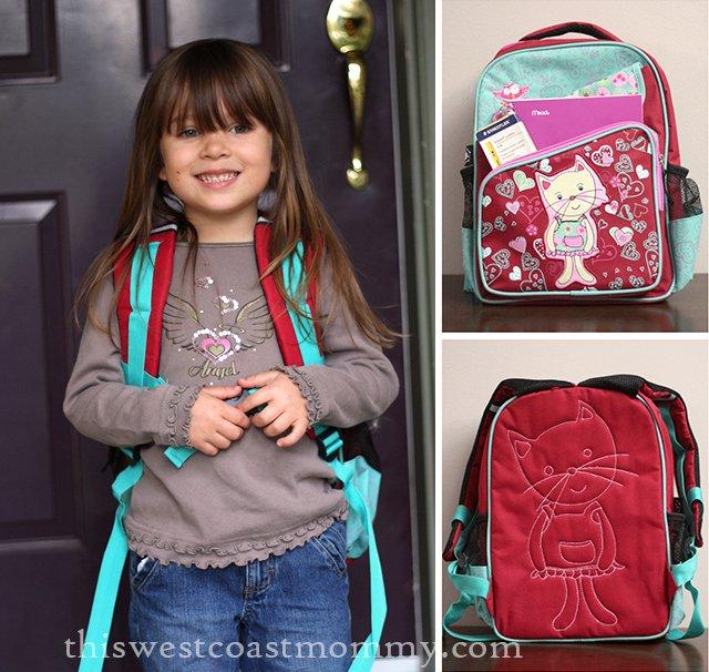 Gazou 14 inch Preschool Backpack