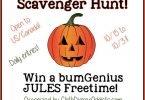 Win a bumGenius Jules #ClothDiaper in the Great Pumpkin Scavenger Hunt! {Closed}