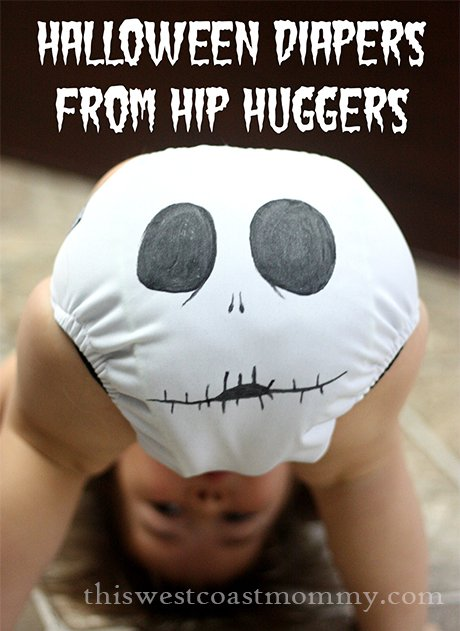 custom halloween cloth diapers from hip huggers