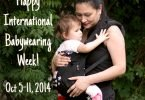 Is Babywearing Going Mainstream? And Rules for Safe Babywearing #IntlBabywearingWeek