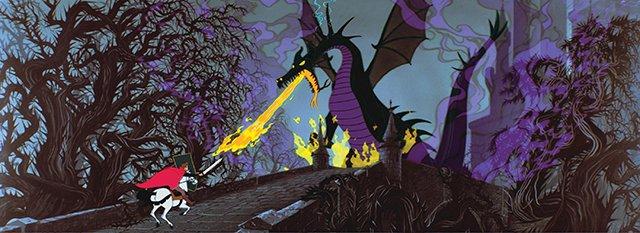 Maleficent the dragon - SB Diamond