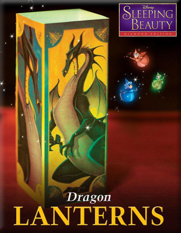 Sleeping Beauty Dragon Lanterns Craft