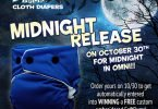SoftBums Omni Midnight Cloth Diaper #Giveaway {Closed}