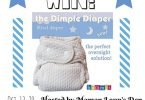 Bummis Dimple Fitted #ClothDiaper Giveaway {Closed}