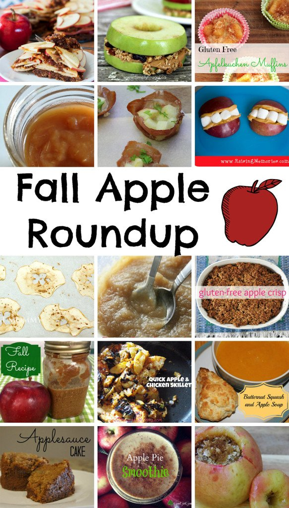fall apple gluten-free recipe roundup