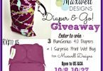 Diaper and Go Giveaway with Maxwell Designs and bumGenius {Closed}