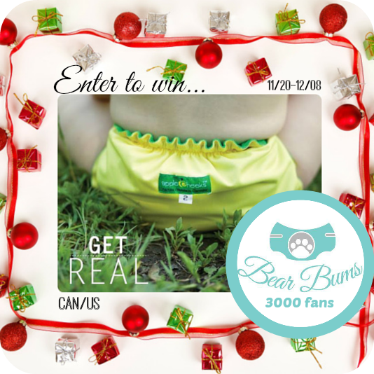 Win an AppleCheeks Get Real FIFA-inspired cloth diaper! Open to CAN/US, 12/08