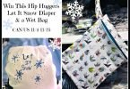 Win a Hand Painted Holiday Cloth Diaper and Wet Bag from Hip Huggers {Giveaway Closed}