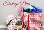Keep Leaf Storage Bins from Rockpretty Kids #TWCMgifts