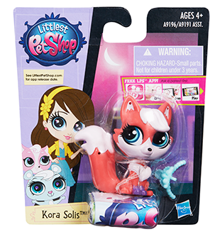 Littlest Pet Shop Get the Pets Single Pack Kora Solis