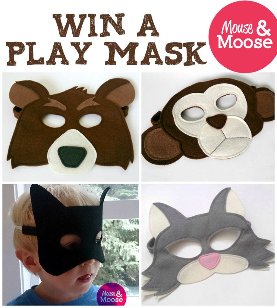Win a Mouse & Moose play mask! (US/CAN, 11/30)