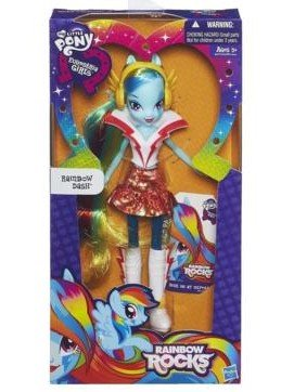 My Little Pony Equestria Girls Neon Rainbow Rocks Rainbow Dash Doll