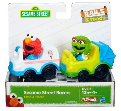 Sesame Street Racers Elmo & Oscar